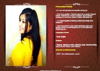matrimony matrimonial sites biodata maker online marriage